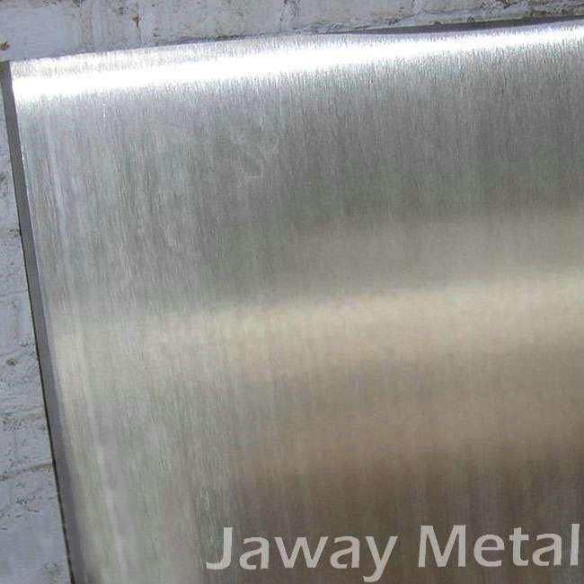 Aluminum alloy plate for anodizing