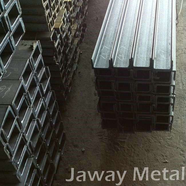 Manufacturering Price Hot rolled U channel bar in low carbon steel