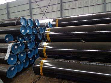 API 5L ASTM A53 welded HFW carbon erw steel pipe