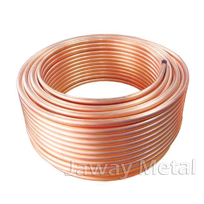 Customized size 0.1mm-50mm wall thickness c12200 copper pipe