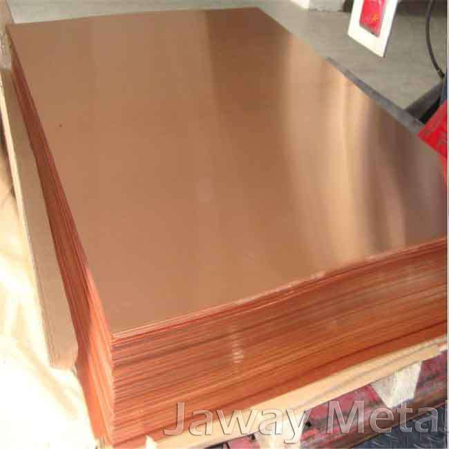 Polished T2 Perforated Copper Sheet