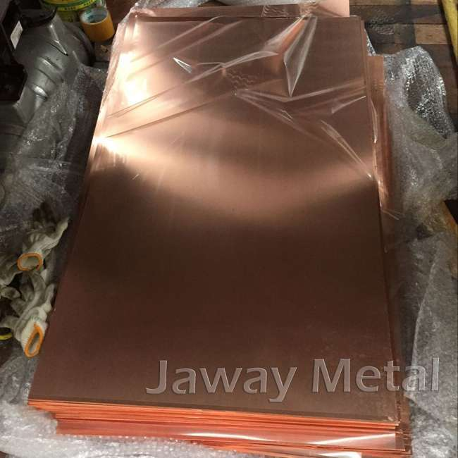 99.9% Purity High Quality Copper Sheet