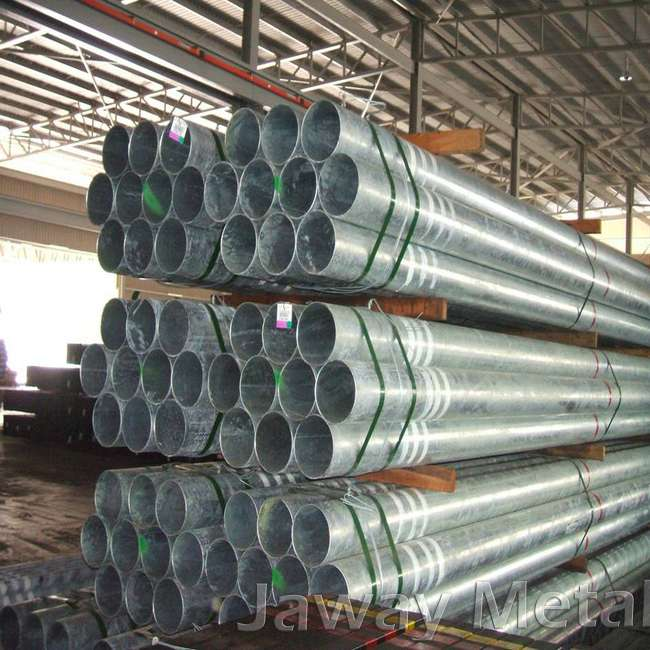 Carbon steel galvanized pipe and tube