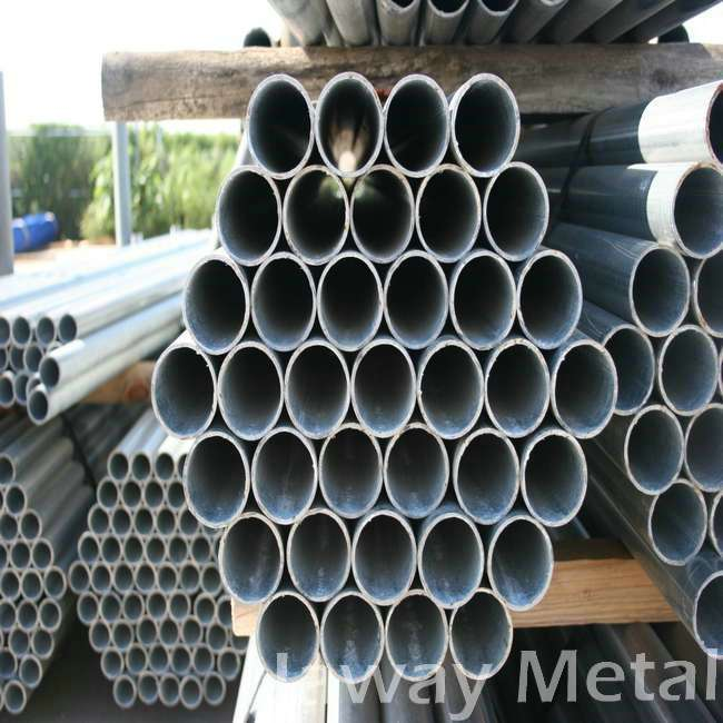 high quality low carbon rectangular galvanized steel square tube