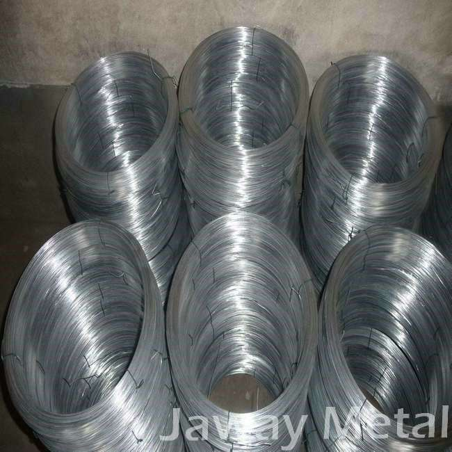 3mm galvanized low carbon steel wire for nail making