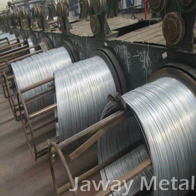 1.6mm hd BWG16 hot dipped galvanized steel wires