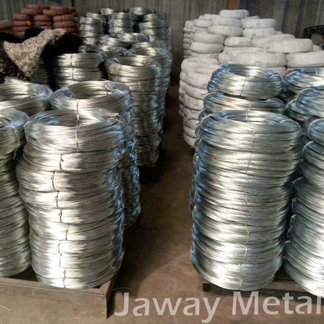 Portable galvanized steel wire for mesh building