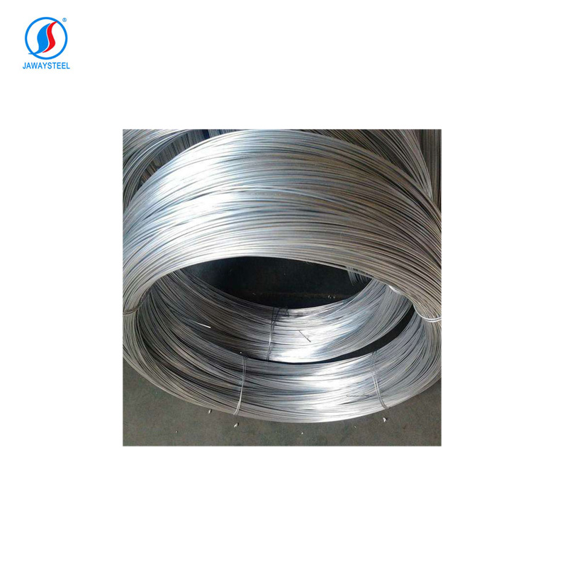 Galvanized oval wire