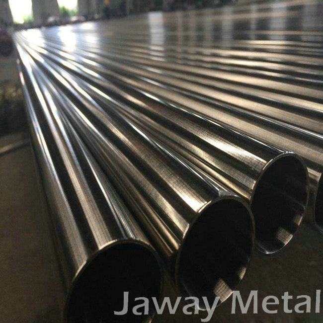 201 induction stainless steel round welded pipe