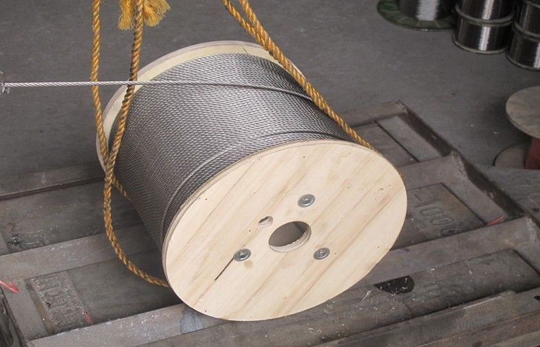 <strong>304L 6x19 stainless steel rope for fishing</strong>